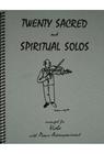 Last Resort Music Publishing Kelley, Daniel: Twenty Sacred & Spiritual Solos (Viola & Piano)