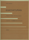 HAL LEONARD Khachaturian, Aram: Sonata-Song for Viola Solo