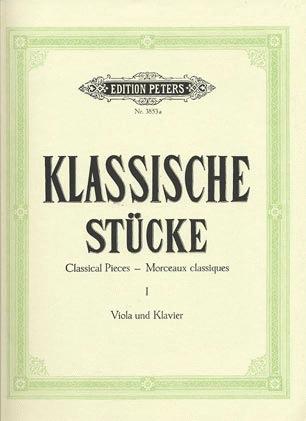 Klengel (arr): Classical Pieces for Viola & Piano V.1