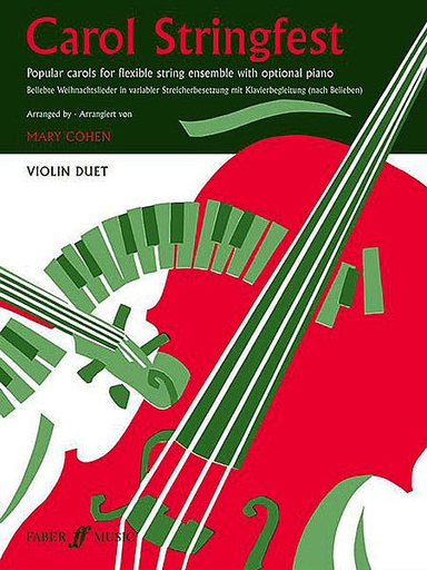 Faber Music Cohen, Mary: Carol Stringfest (2 violins)