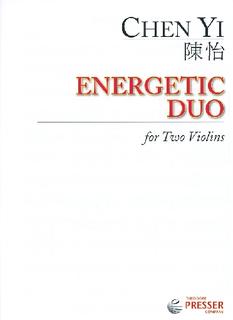 Carl Fischer Yi, Chen: Energetic Duo (2 violins)