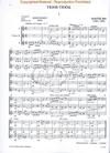 HAL LEONARD Bartok, B. (Szervanszky): Violin Trios from Choral Works (three violins)