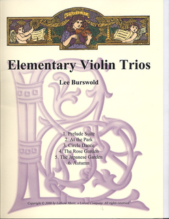 Burswold, Lee: Elementary Violin Trios (parts and score)