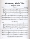 LudwigMasters Burswold, Lee: Elementary Violin Trios (parts and score)