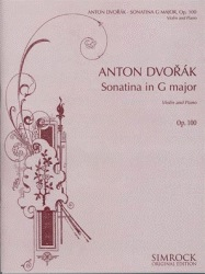 HAL LEONARD Dvorak, A.: Sonatina in G major Op.100 (violin & piano)