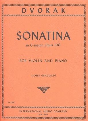 International Music Company Dvorak, A. (Gingold, ed.): Sonatina in G major, Op.100 (violin & piano)