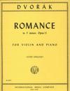 International Music Company Dvorak (Gingold): Romance in F minor, Op.11 (violin & piano) IMC