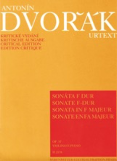 Barenreiter Dvorak, Antonin: Sonata in F minor op. 57 (violin, piano)