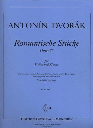 Dvorak, Antonin: Romantic Piece (violin & piano)