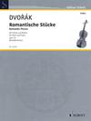 HAL LEONARD Dvorak: Romantic Pieces, op75 (violin, piano) SCHOTT