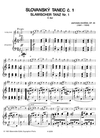 Barenreiter Dvorak, Antonin (Pokorny): Slavonic Dances, Op. 46 Nos. 1-4 (violin & piano)