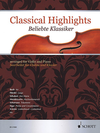 HAL LEONARD Mitchell (editor): Classical Highlights arranged for violin and piano