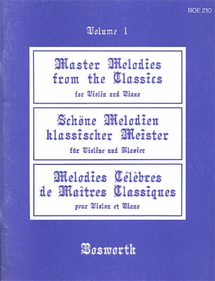 Bosworth Beer, L.: (Collection) Master Melodies from the Classics, Vol.1 (violin, and piano)