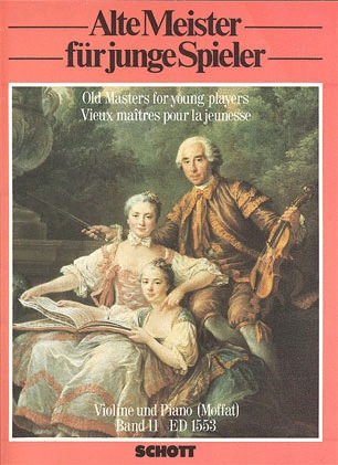 Moffat: Old Masters for Young Players, Vol.2 (violin & piano)