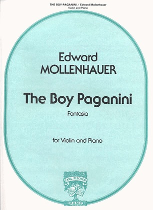 Carl Fischer Mollenhauer, Edward: The Boy Paganini (Violin & Piano)