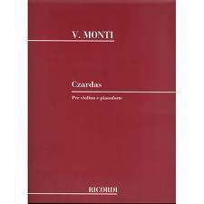 HAL LEONARD Monti, Vittorio: Czardas (violin & piano)