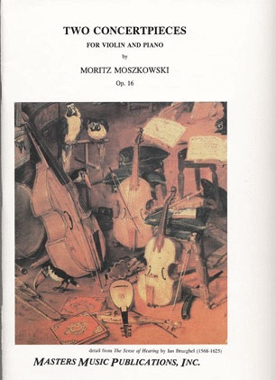 LudwigMasters Moszkowski, Moritz: Two Concertpieces Op.16 (violin & piano)