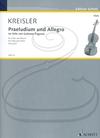 HAL LEONARD Kreisler (Pascucci): Praeludium and Allegro (viola & piano) Schott