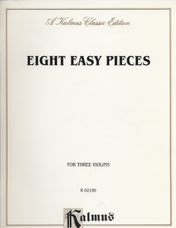 Alfred Music Kalmus: Eight Easy Pieces (3 Violins)