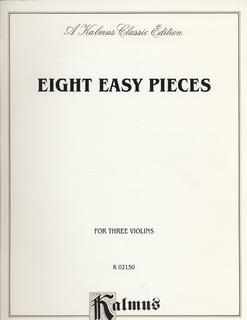 Kalmus Kalmus: Eight Easy Pieces (3 Violins)
