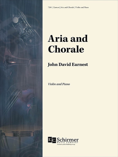 Canticle Earnest: Aria and Chorale (violin, piano) Schirmer