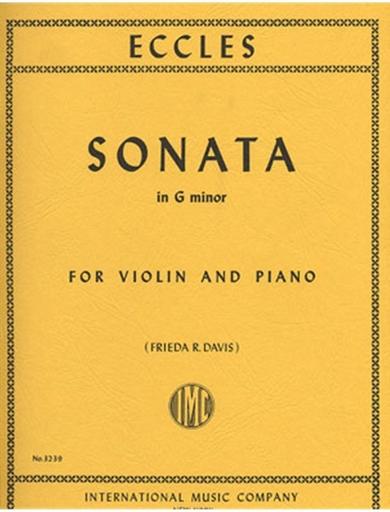 International Music Company Eccles, Henry: Sonata in G minor (violin & piano) IMC
