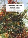 HAL LEONARD Einaudi, Ludovico: Sarabande fro solo violin and piano