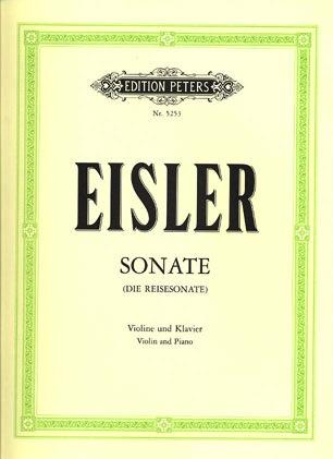 Eisler, Hanns: Sonata-Die Reisesonate (violin & piano)