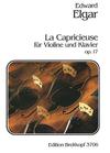 Elgar, Edward: La Capricieuse Op.17 (violin & piano)