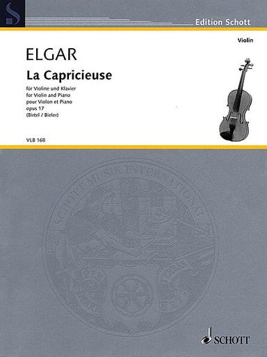 HAL LEONARD Elgar, Edward: La Capricieuse, Op. 17 (violin & piano)