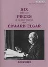 Bosworth Elgar, Edward: Six Very Easy Pieces Op.22 (violin & piano)