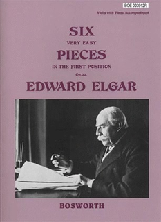 Bosworth Elgar, Edward: Six Very Easy Pieces Op.22 (violin & piano)