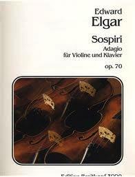 Elgar, Edward: Sospiri Op.70 (violin & piano)