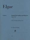 HAL LEONARD Elgar: Sonata op 82 (violin, piano) HENLE URTEXT
