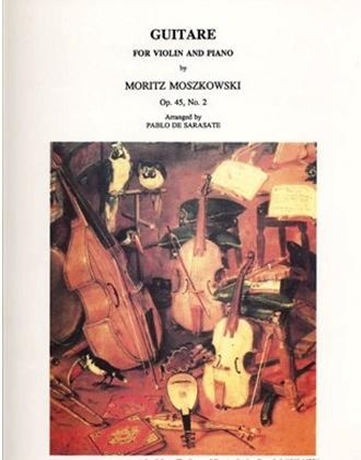 LudwigMasters Moszkowski, Moritz (Sarasate): Guitare Op45#2 (violin & piano)