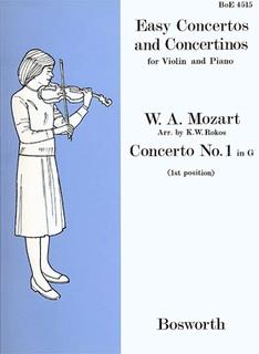 Bosworth Mozart, L.van: Violin Concerto #1 in G (violin & piano)
