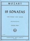 International Music Company Mozart, W.A.: 19 Sonatas 2 part set