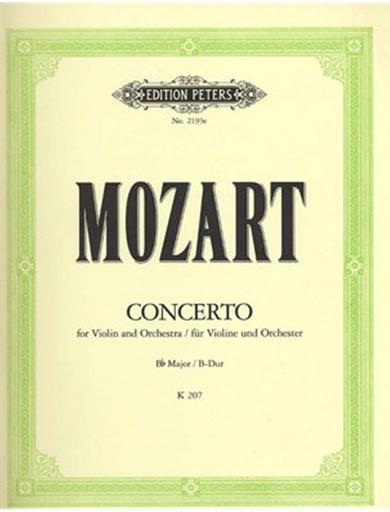 Mozart, W.A. (Sitt): Violin Concerto No.1, K. 207 (violin & piano)