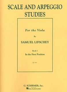 HAL LEONARD Lifschey, Samuel: Scale & Arpeggio Studies (Viola)