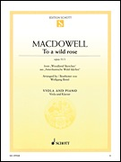 HAL LEONARD MacDowell, Edward: To a Wild Rose, Op. 51, No.1 (cello & piano)