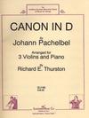 HAL LEONARD Pachelbel, J. (Thurston): Canon in D (3 violins & piano)