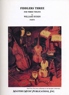 LudwigMasters Ryden, William: Fiddlers Three for Three Violins (3 parts, no score)