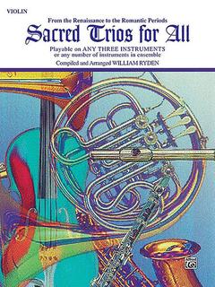Alfred Music Ryden (arr): Sacred Trios for All (3 Violins)