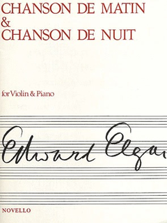 Novello Publishing Limited Elgar, Edward: Chanson de Matin & Chanson de Nuit (violin & piano)