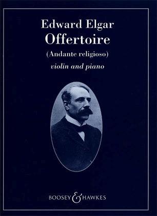 HAL LEONARD Elgar, E.: Offertoire-Andante religioso (violin & piano)