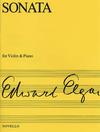 HAL LEONARD Elgar, Edward: Violin Sonata Op.82 (violin & piano)