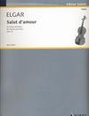 HAL LEONARD Elgar, E.: Salut D'Amour, Op.12, No.3 (violin and piano)