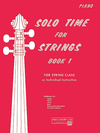 Alfred Music Etling, F.R.: Solo Time for Strings, Bk.1 (piano accompaniment)