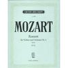 Mozart, W.A.: Concerto #2 in D KV 211 (Violin & Piano)