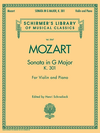 HAL LEONARD Mozart, W.A.: Sonata in G Major K.301 (violin & piano)